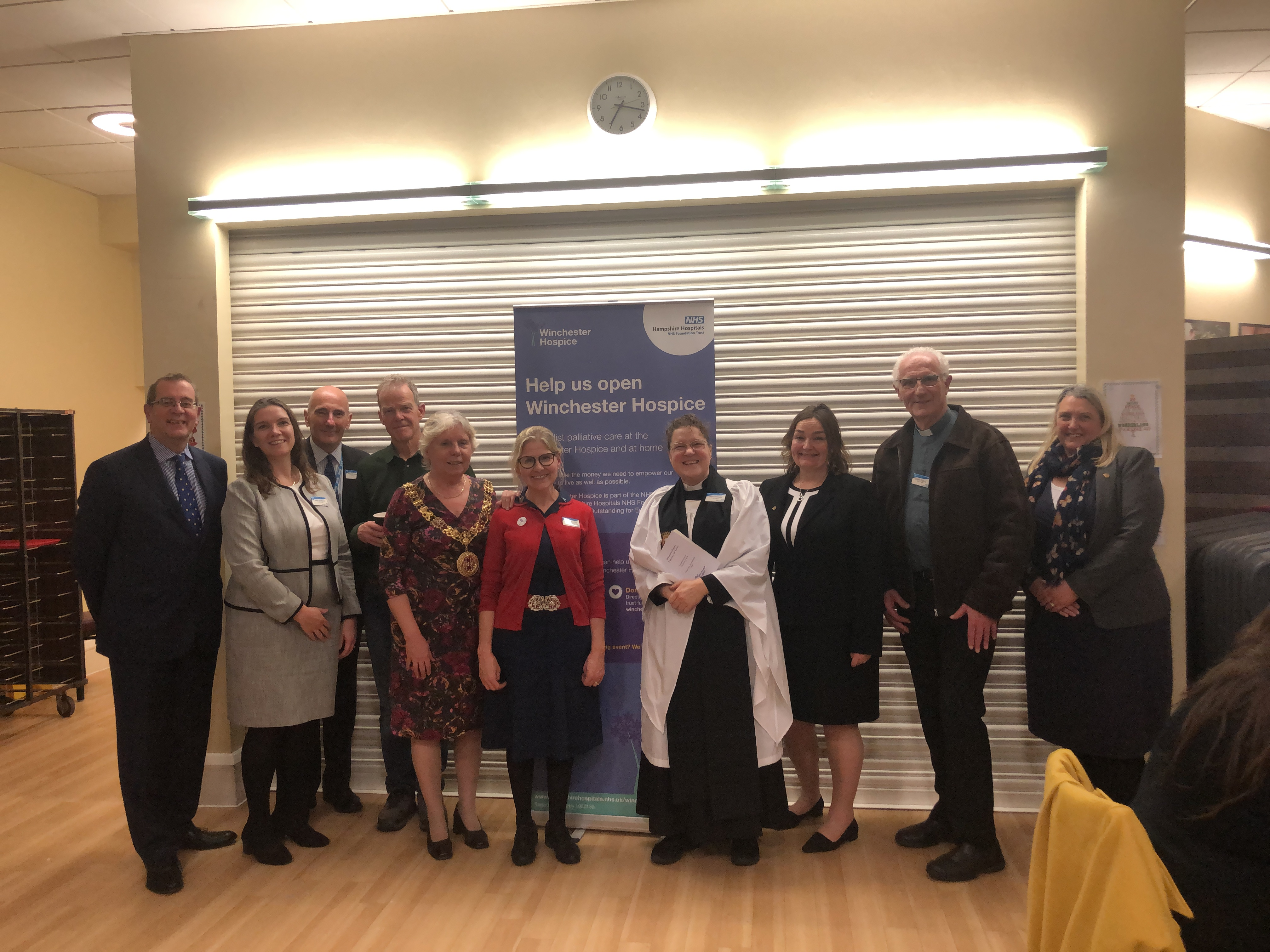 Winchester Hospice brings light to local community
