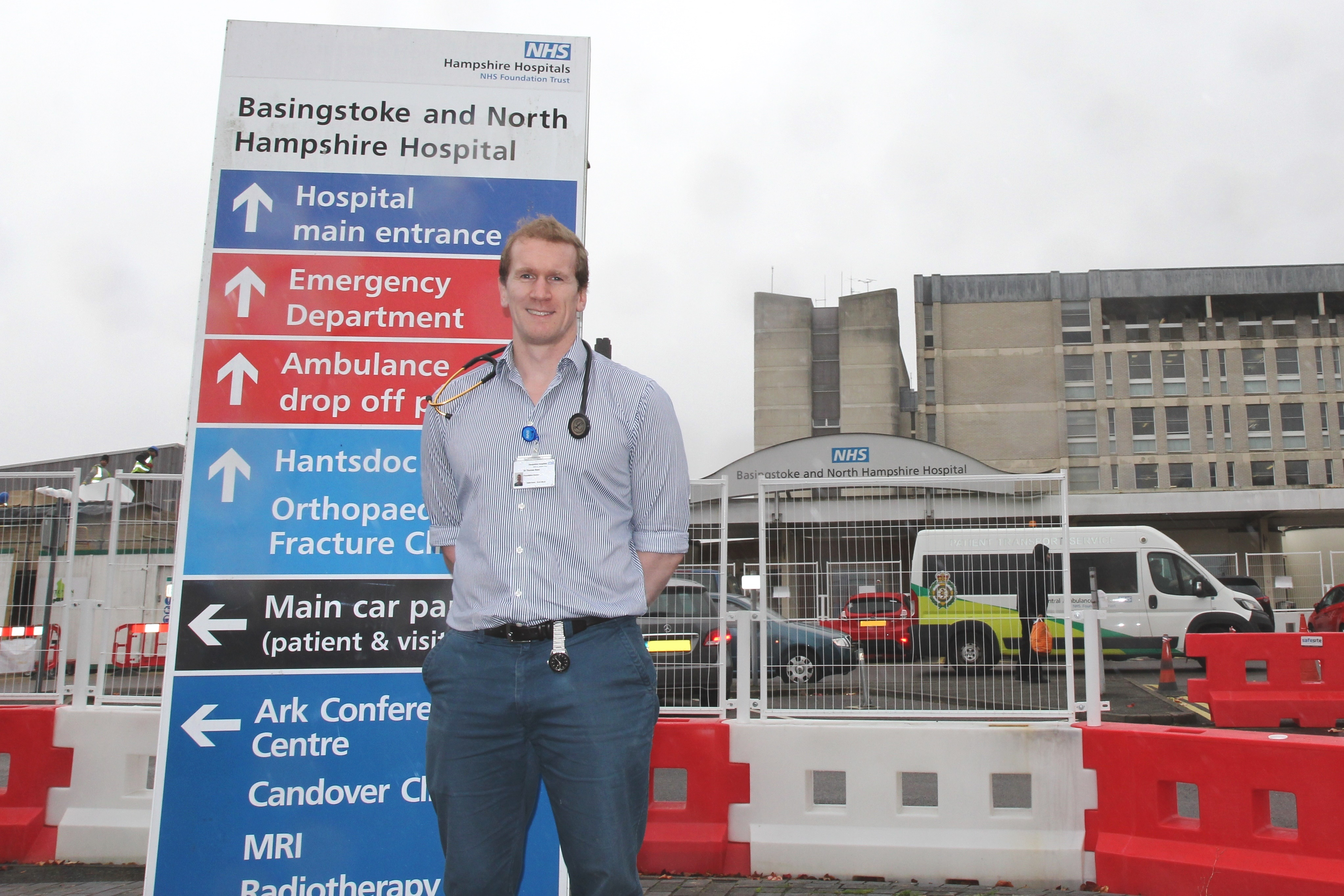 Dr Tom Rees - From try saving to life saving