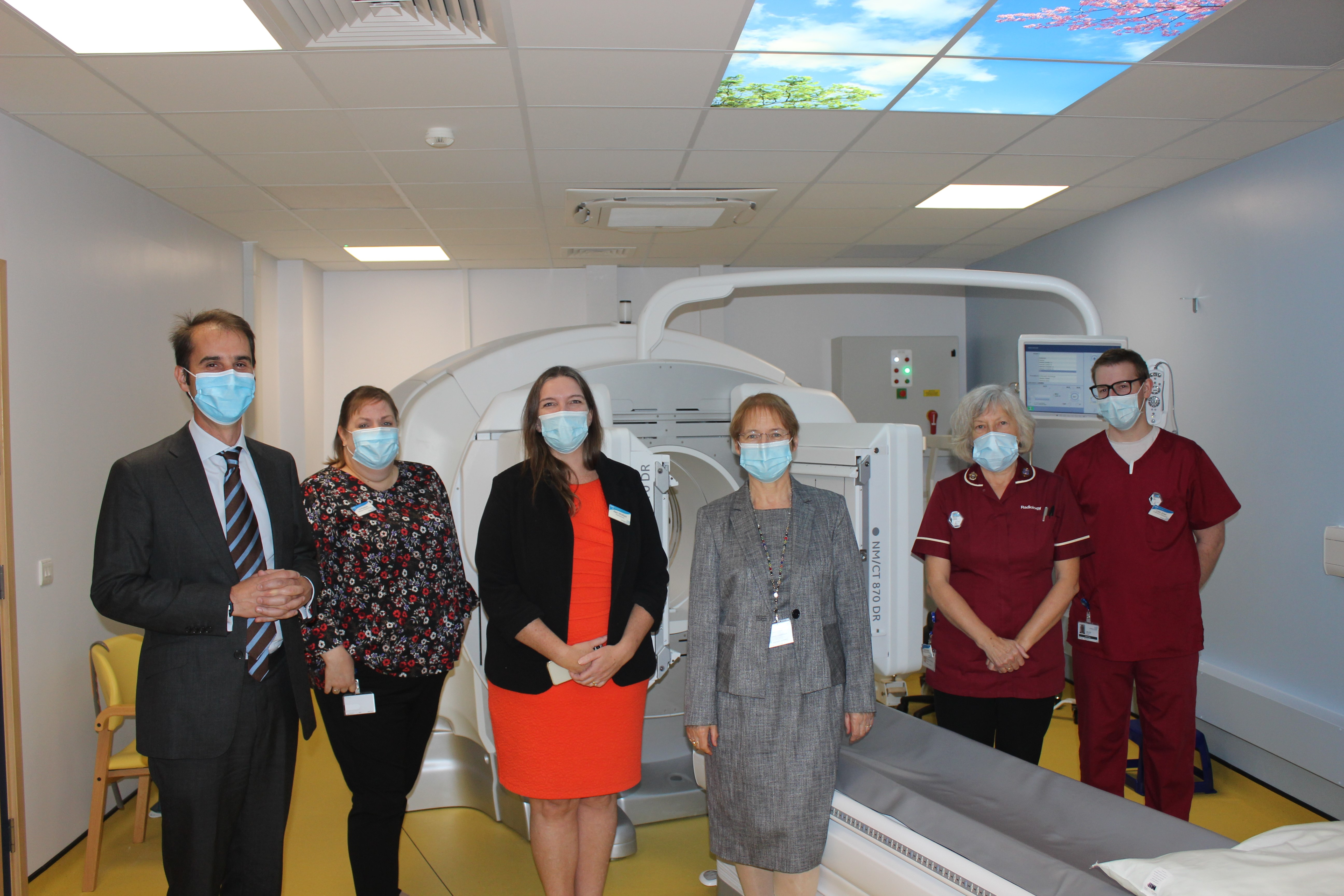 Brand new scanner for Basingstoke Hospital
