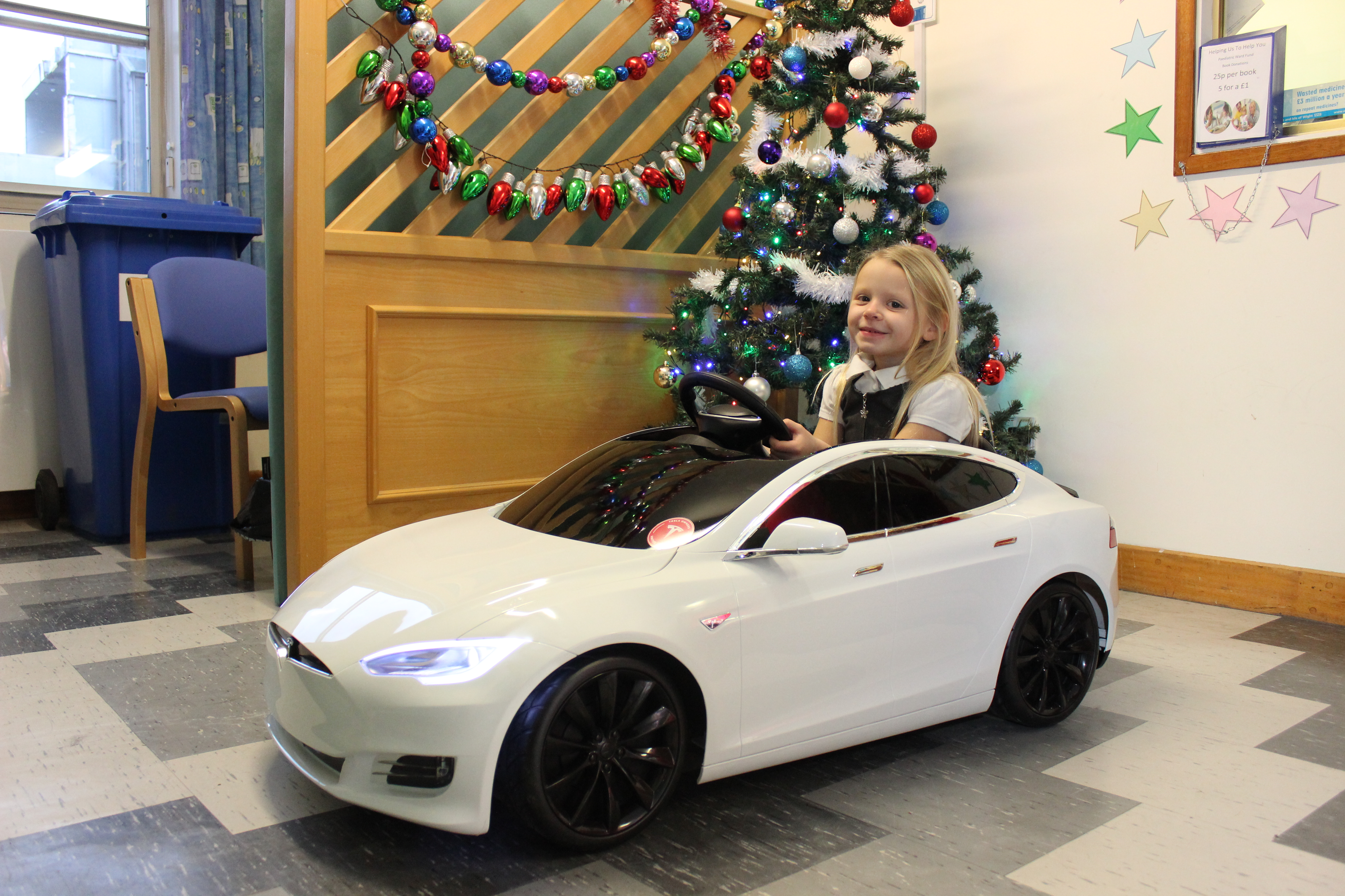 Hospital donation helps children to travel in style